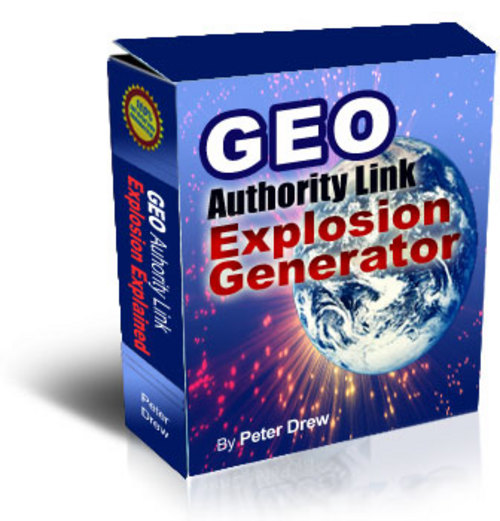 Product picture GEO Authority Link Explosion Generator Software - Confirmed