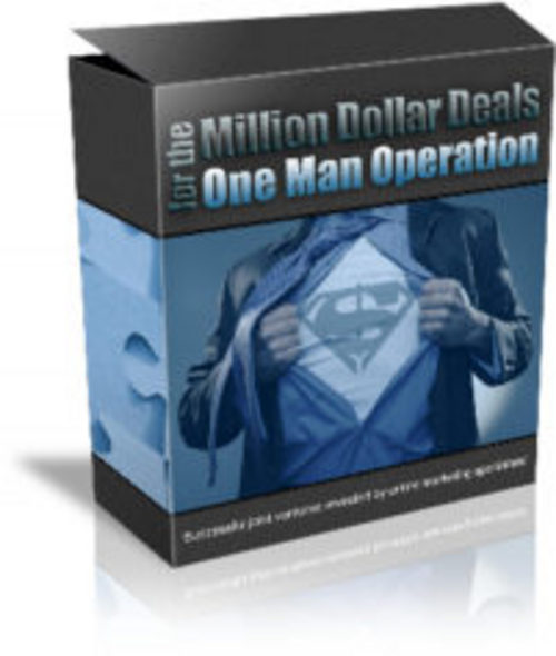 Product picture Joint Ventures Million Dollar Deals Audio Ebook - Confirmed