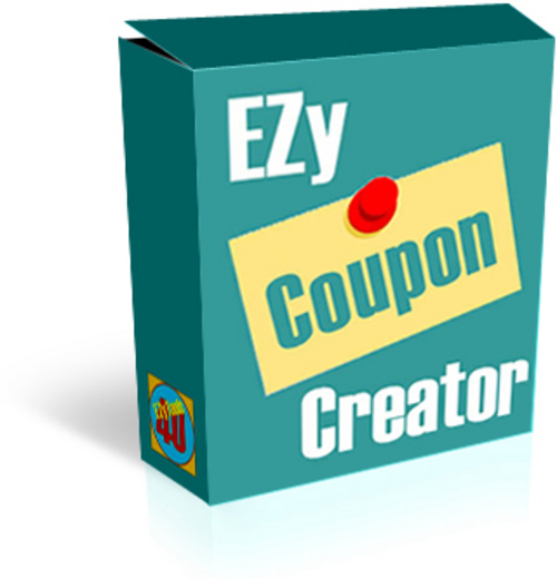 Product picture EZy Coupon Creator Software - Confirmed
